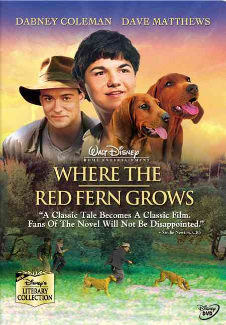 WHERE THE RED FERN GROWS BY COLEMAN,DABNEY (DVD)